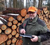 High-Tech im Wallersteiner Forst