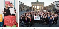 """Deutschlands Beste Arbeitgeber 2016: Neumüller ist ein """"Great Place to Work"""""""