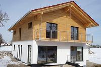 Besichtigung eines Holz100-Hauses in Otterfing