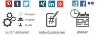 Blogbeiträge automatisiert, individuell optimiert und zeitversetzt in Social Media posten