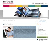 Sutor Bank mit neuen Schnitstellen (APIs) für Fintechs