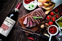 alkoholfreie Weine, Rotweine und Weißweine passend zum Grillfest