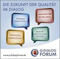 Q-DIALOG FORUM auf der Control 2016: 4 Tage Expertentalk zur Zukunft der Qualität