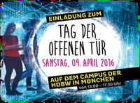 Tag der offenen Tür an der HDBW am 9. April 2016