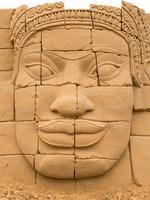 Das 3.Sandskulpturen Festival Usedom eröffnet zu Ostern