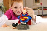 Batman, Superman und Wonderwoman als puzzlebare Actionfigur