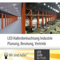 Die optimale Industriebeleuchtung