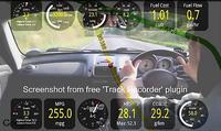 Lescars Head-up-Display mit Bluetooth HUD-55C.bt