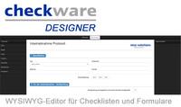 Neu: Digitale Checklisten selbst designen