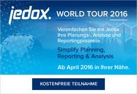 Jedox World Tour 2016: Planungsprozesse vereinfachen in über 25 Städten weltweit