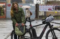 Mobil bei jedem Wetter: So bleiben Radfahrer trocken
