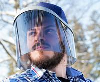 Die JEGCAP 360° Kopfbedeckung schützt vor UV-Strahlung
