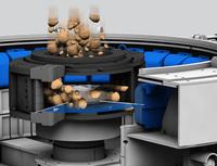 New VSI rotor centrifugal crushers with extra high throughput