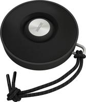 """Runde Sache: Mobiler Speaker """"ACME BAT"""" mit intuitiver One-Button-Bedienung, coolem Kordel-Design und Wasserunempfindlichkeit"""