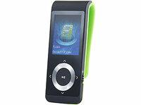 auvisio MP4-Player DMP-320.pm mit Pedometer, Bluetooth, Radio und Video