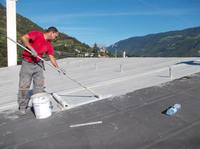 Wasserkraftwerk Naturns: Dauerhaft dichtes Dach dank Triflex