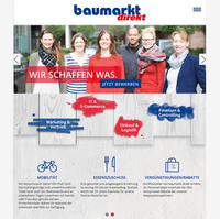baumarkt direkt launcht Karriere-Website