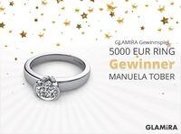 GLAMIRA-Verlosung: 5000 EUR Ring hat seinen neuen Besitzer