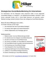 Whitepaper: Strategisches Social-Media-Marketing für Unternehmen