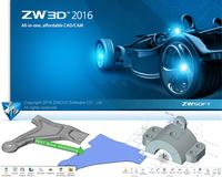 ZW3D 2016: Neues Release des 3D-CAD/CAM-Systems für mehr Kollaboration im Unternehmen