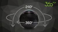 Live-Streaming für 360-Grad-Actioncam 360fly: Partnerschaft mit Streaming-Service Livit - mobile Virtual Reality per 4G Netzwerk ab sofort verfügbar