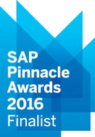 """NGA Human Resources ist Finalist des SAP® Pinnacle Awards 2016 in der Kategorie """"Application Development Partner of the Year"""""""