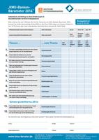 Finanzierungs-Check für den Mittelstand: KMU-Banken-Barometer 2016