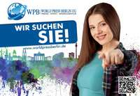 WPB World Press Berlin UG sucht Sie!