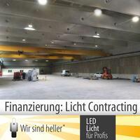 Finanzierung von Industriebeleuchtung: Licht Contracting