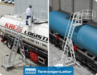 Die KRAUSE-Tankwagenleiter: Sicher, komfortabel und leicht in der Handhabung