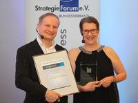 Lothar Seiwert erhält Strategie-Ehrenpreis des Bundesverband StrategieForum