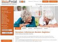 WohnPortal Plus bringt Nachfrage, Angebot und Beratung für selbstbestimmtes Wohnen zusammen