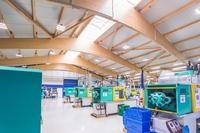 Alte und neue Produktion mit moderner LED-Beleuchtung