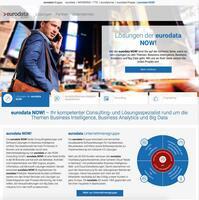 eurodata NOW! präsentiert sich mit neuem Webauftritt