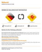 Wallonisch | Werbegestaltung ab 19 Euro