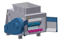IFAT debut: New Universal Shredder - completely redesigned
