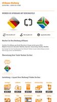 Afrikaans Werbung   Gestaltung + Layout ab 19 Euro