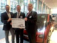 Innovationstag: BMW Frankfurt, Darmstadt und Kassel spenden 3.000 Euro an Kinderhilfestiftung e. V. Frankfurt