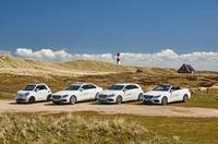Europcar: Weißes Fahrvergnügen auf Sylt