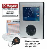 Zeiterfassung ELV-TimeMaster spart Zeit bei der Erfassung und Auswertung