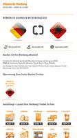 Albanische Werbung | Gestaltung + Layout ab 19 Euro