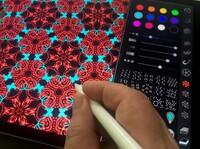 Zeichen App iOrnament unterstützt Apple Pencil und 3D Touch