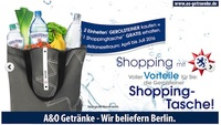 Gerolsteiner Shopping Taschen Aktion bei A&O Getränke