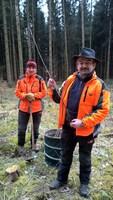 2.500 Wildkirschen für den Ebersberger Forst