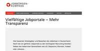 foodjobs.de setzt auf Jobbörsen-Kompass - Transparenz für Arbeitgeber und Kandidaten