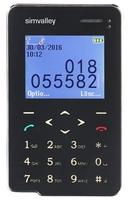 simvalley MOBILE Premium Scheckkarten-Smarthandy Pico RX-492