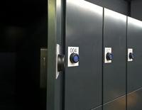 Kompaktes, kabelfreies Spindschloss ID Lock 2000
