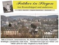 """Magazin """"Früher in Siegen - Rosterberg"""" mit viel Lesestoff"""