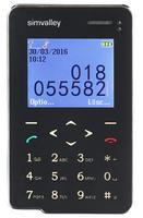 simvalley MOBILE Premium Scheckkarten-Smarthandy Pico RX-492 mit Bluetooth