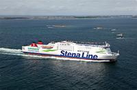 Schwefelausstoß bei Stena Line um 50 Prozent reduziert